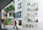 Vertical Garden House, 2011 Tokyo, by Ryue Nishizawa