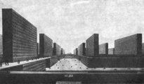 Ludwig Hilberseimer, La citt verticale, 1924