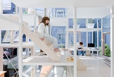 Szklany dom Sou Fujimoto Architects