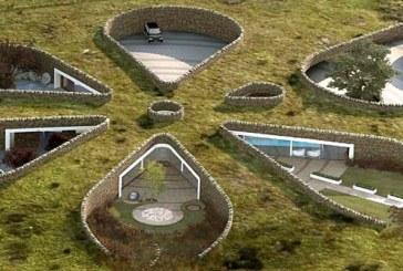 Podziemny dom - kwiat biomimitektury