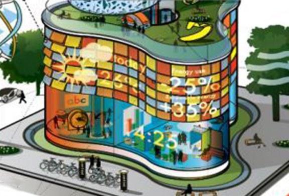 Futurystyczny budynek mieszkalny Arup