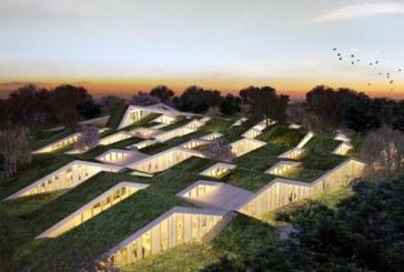 Szkoła w Asminderod według Bjarke Ingels Group.
