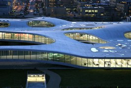 Laboratorium innowacji - Rolex Learning Center