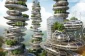 Kamienne kopce Callebauta - biomorficzna architektura w bionicznym mieście