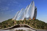 Zayed National Museum - pustynna rzeźba Foster + Partners