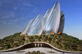 Zayed National Museum — pustynna rzeźba Foster + Partners