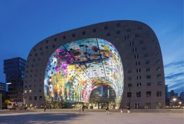 Architektura humanistyczna - Markthal Rotterdam